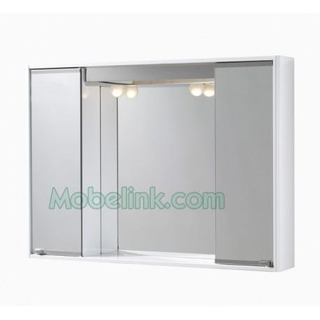 armario camerino compacto esmaltado en blanco tipo romi