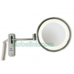 Espejo de Aumento Monaco Halogeno - Cromo