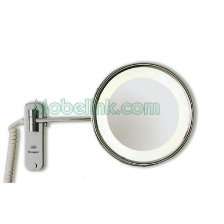 espejo de aumento de 235 fabricado en latón