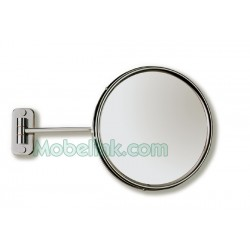 Espejo de Aumento, Monaco Sin Luz 1 Brazo - Cromo
