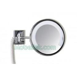Espejo de Aumento Luz Fluorescente, Zenit 1 Brazo - Cromo