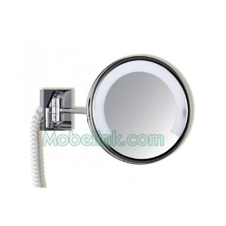 espejo de aumento luz fluorescente 1 brazo