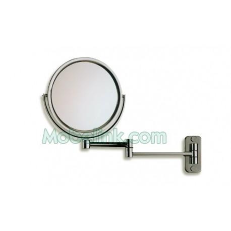 espejo aumento dos caras de 18 cm