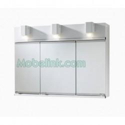 armario baño metálico tipo romi